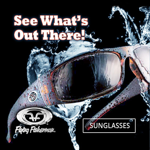 Pulaski Tackle Shop Flying Fisherman Polarized Sunglasses