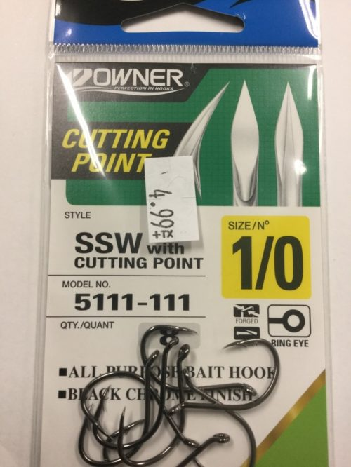 Owner Cutting Point SZ1 SSW Hooks